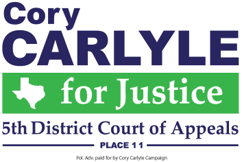 Cory Carlyle for Fifth District Court of Appeals